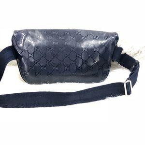 c96d085635f694 Gucci Bags | Authentic Monogram Imprime Fanny Pack | Poshmark